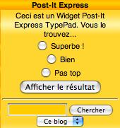Widget_postitexpress